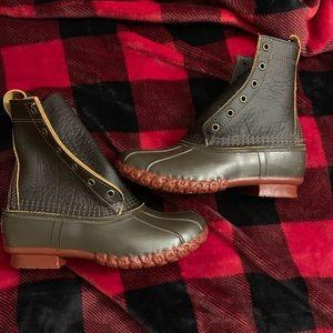 NEW! L.L. Bean Duck Boots DARK BROWN WMNS 6(7.5-8)
